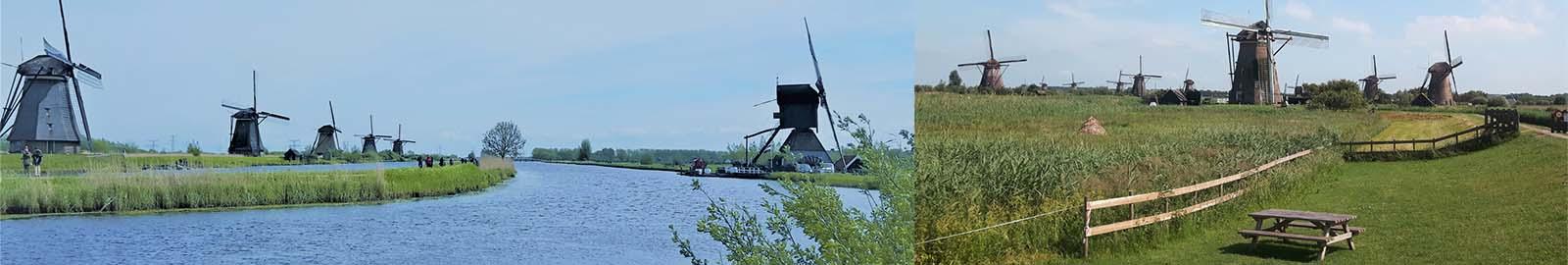 Kinderdijk 19 Windmühlen UNESCO Weltkulturerbe